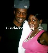 paul okoye and elshama pictured
