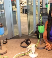 Linda Ikeji at BBC