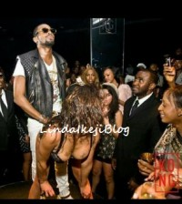 dbanj on stage