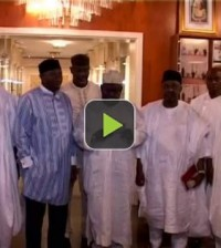 President Jonathan with aggrieved governors