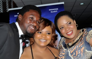 toyin aimakhu and hubby at the premier