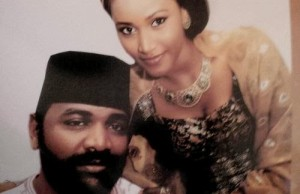 SANNI ABACHA SON AND WIFE