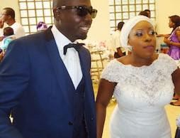 The couple, Mr & Mrs Booniyamin Taiwo