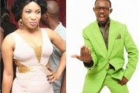 Tonto Dikeh, AY the Comedian in tweet fight