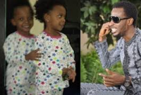 """You shall excel beyond me"" – 9ice prays for his twin daughters"