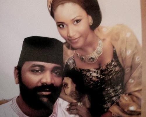 SANNI ABACHA SON AND WIFE